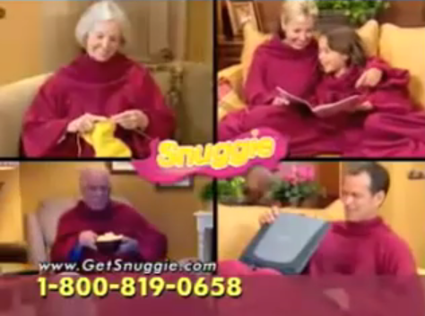 Product of the Day: The Snuggie
