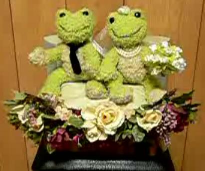 Robotic Wedding Mascot