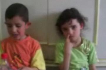 Big Sister Feeds Little Bro a Booger