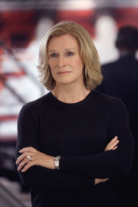 Interview About Damages Season Two with Glenn Close