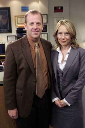 Interview with Amy Ryan and Paul Lieberstein of The Office