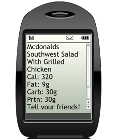 Get Nutrition Facts to Your Phone With Diet.com