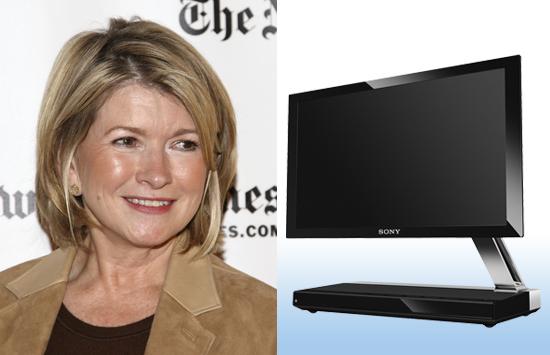 Martha Stewart Says She Likes Sony's New Flat Screen OLEDs