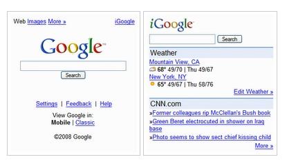 Google Gets Slick New Mobile Interface