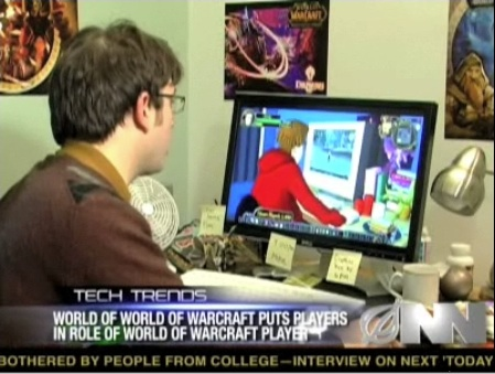 The Onion's Video Satire on World of Warcraft, Where Players Play Avatars Playing Avatars