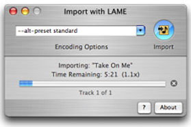 LAME is a Loss-Less MP3 Encoder and an Alternative to iTunes For CD Ripping