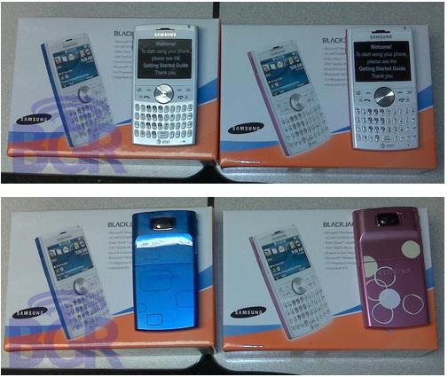 Samsung's BlackJack II Pops Up in Pink and Blue
