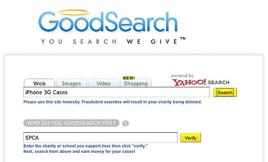 GoodSearch Lets You Search and Give Back at the Same Time!
