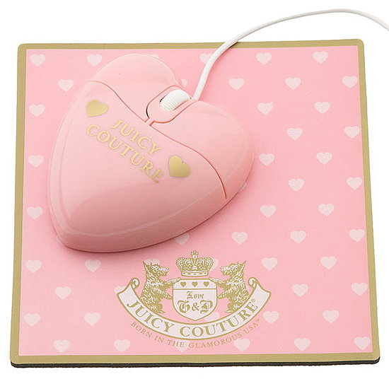 Juicy Couture Mouse and Mouse Pad Set: Love It or Leave It?
