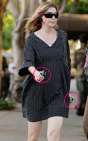 Ellen Pompeo Shows Off Her Gadgets
