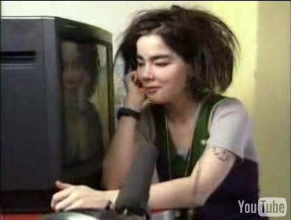 Björk Takes Apart a Television and Explains What Goes On