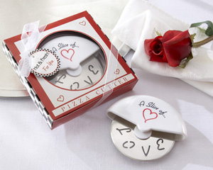 """They'll have a """"slice of love"""" each time they use this stainless-steel pizza cutter."""