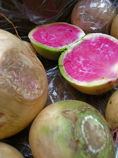What's in Season: Watermelon Radishes