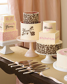 Top 10 Wedding Cake Trends of 2008