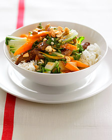 Monday's Leftovers: Steak and Bok Choy Stir-Fry