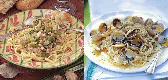 Linguine With Clams Two Ways — Beginner and Expert
