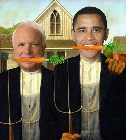 Farmers Target the White House