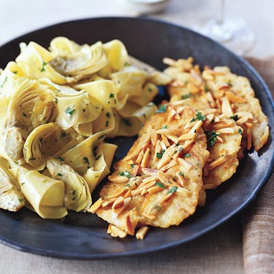 Fast & Easy Dinner: Sole Fillets With Artichoke Pasta
