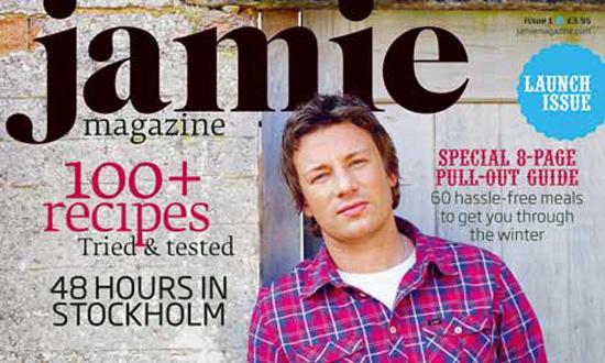"Jamie Oliver to Launch ""Jamie Magazine"""