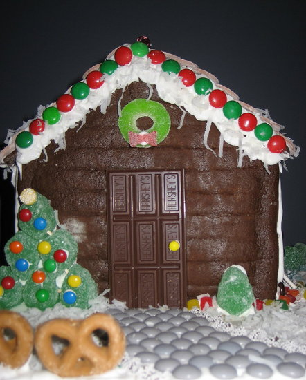 Have You Ever Made a Gingerbread House?