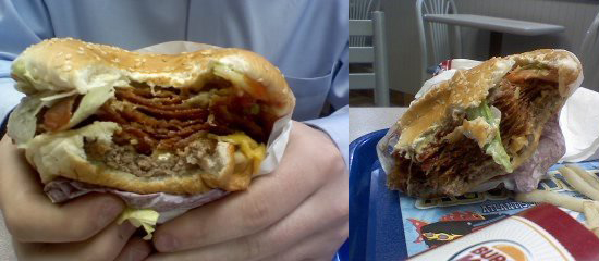 Whopper With Bacon and Cheese