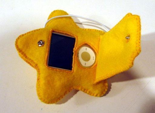 Super Mario Star iPod Case