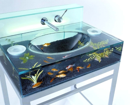 Italian Made Fish Tank Sink