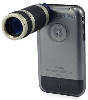 iPhone Camera Telescope - Look Closer