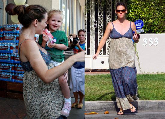 Photos of Pregnant Jennifer Garner With Violet Affleck Preparing for Ben Affleck's Birthday