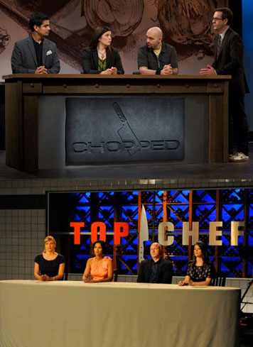 Is Food Network's Chopped a Ripoff of Top Chef?