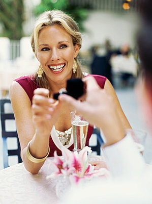 Where Do You Stand? Proposals at Restaurants