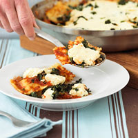 Fast & Easy Dinner: Ravioli Skillet Lasagna