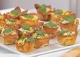 Crab Salad in Crisp Wonton Cups