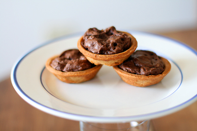 Yummy Link: Chocolate Cookie Tartlets