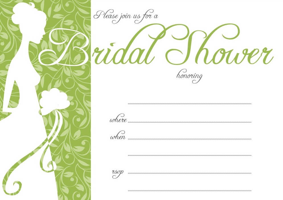 Come party with me bridal shower invite popsugar food for Bridal shower email invitations