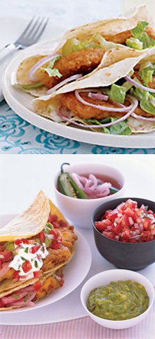 Fish Tacos Two Ways — Beginner and Expert