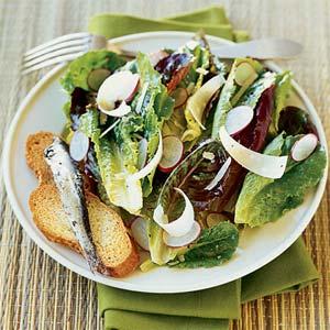 Fast & Easy Dinner: Garden Caesar Salad