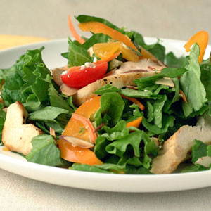 Fast & Easy Dinner: Orange Chicken Salad With Feta