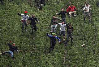 Gloucestershire Cheese Rolling Tournament 2008