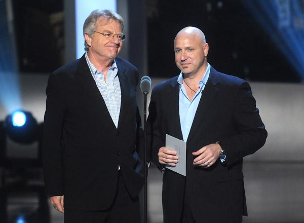 Tom Collichio and Jerry Springer