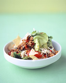 Fast & Easy Dinner: Turkey Taco Salad