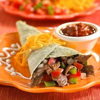 Fast & Easy Dinner: Fajita Roll-Ups