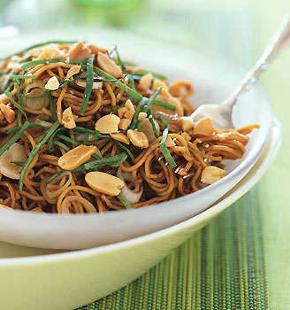 Spicy Sesame Noodles