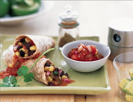 Fast & Easy Dinner: Black Bean and Corn Tacos
