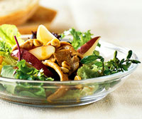 Fast & Easy Dinner: Sauteed Pork and Pear Salad
