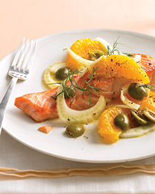 Fast & Easy Dinner: Seared Salmon With Oranges and Fennel