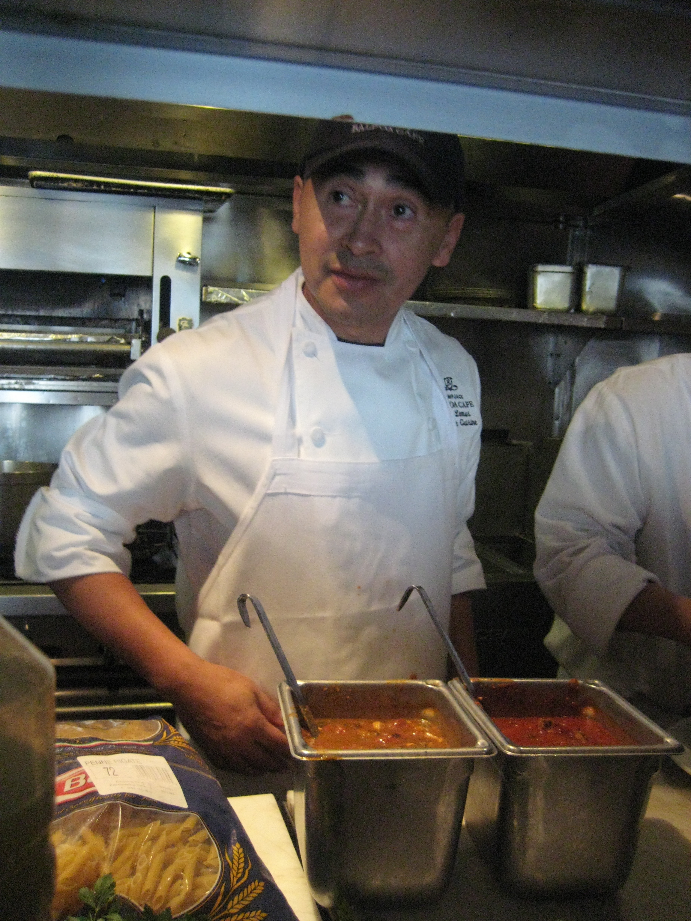 "<a href=""http:/... Cafe</a>'s Jose Lemus is the reigning king of the"