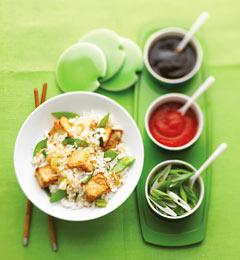 Fast & Easy Dinner: Sesame Tofu Stir-Fry