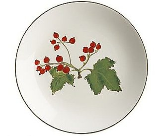 Off to Market: Christmas Plate