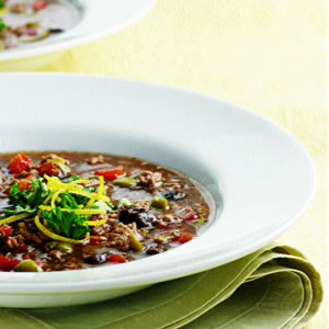Fast & Easy Dinner: Lamb, Fig, and Olive Stew